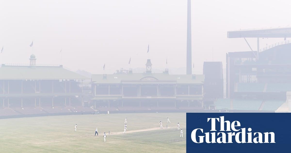 Hazy spirit gives way to smoke haze as crickets Sydney Test approaches