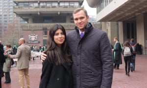 Matthew Hedges, who was accused of spying by the UAE, and his wife Daniela Tejada