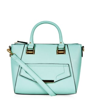 turquoise bag £17.99, New Look