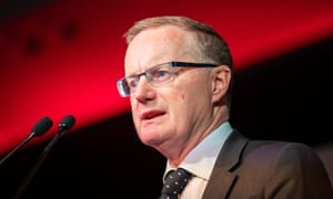 Philip Lowe says governments should be thinking about infrastructure spending.
