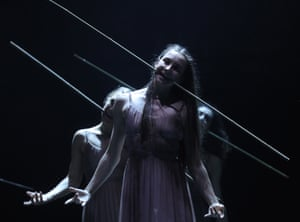 Moscow, Russia Dancers from English National Ballet rehearse for Akram Khan's production of Giselle