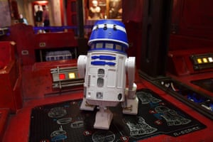 The Droid Depot, where customers can build their own droid