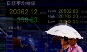 Markets fall on fears of currency war