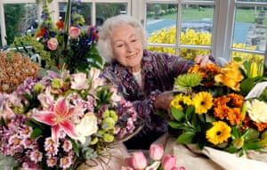 At home in Ditchling on her 90th birthday in 2007