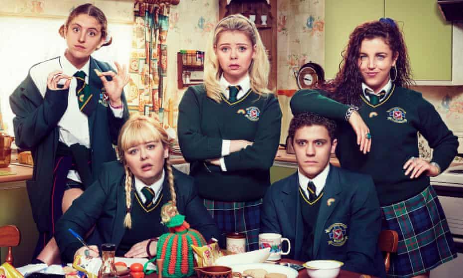 The TV series Derry Girls