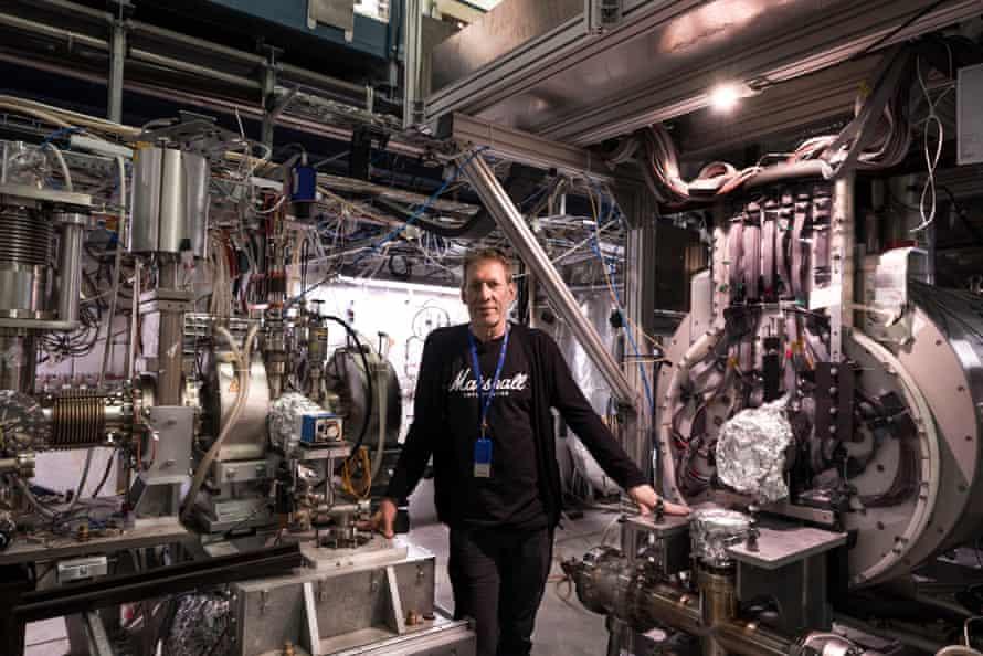 Professor Jeffery Hangst of the Alpha experiment at CERN