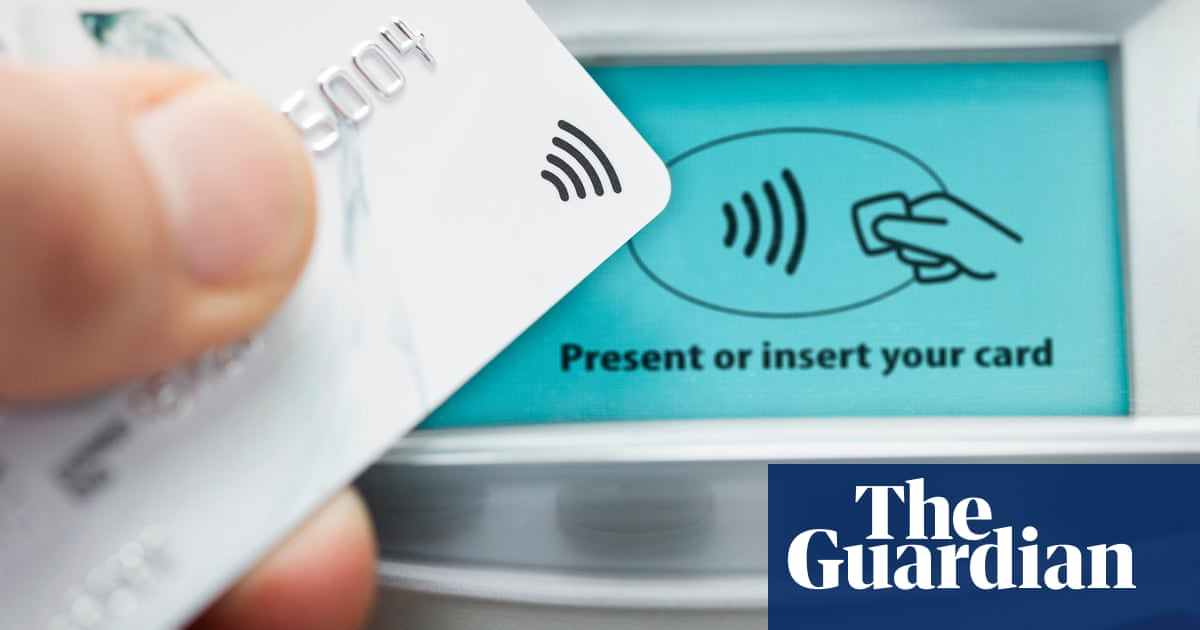 Nationwide has signed away my right to use a contactless card