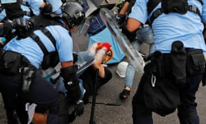 There are fears that today's protests could turn violent.