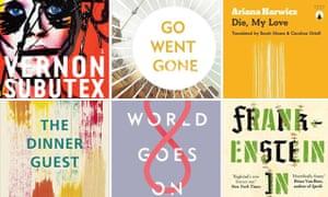 Man Booker International prize 2018 longlist composite