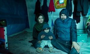 Karzan, Sharmin and son Hemn