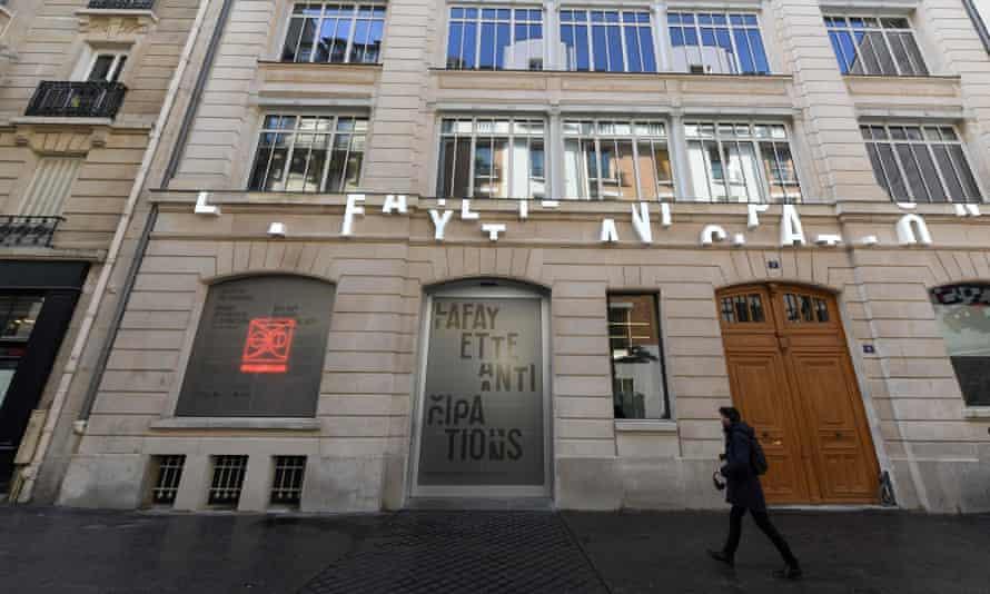 The Lafayette Anticipations building in Paris