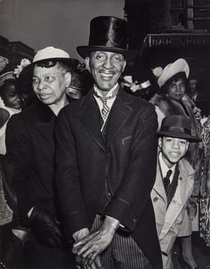 "WeegeeEaster Sunday in Harlem, 1940 ""To me, pictures are like blintzes – you gotta get 'em while they're hot"" Weegee the Famous"