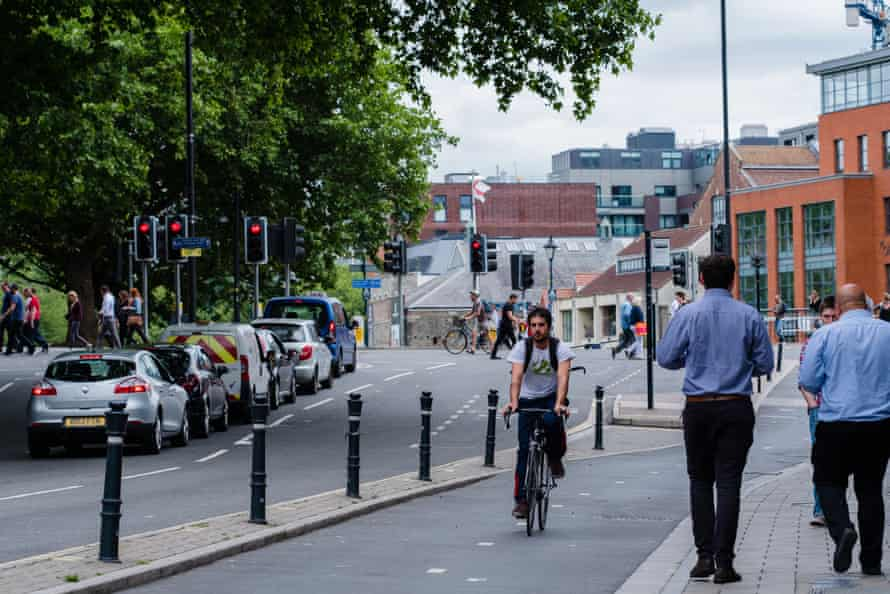A dedicated cycling route from the Bath to Bristol Path has been developed into the centre of Bristol