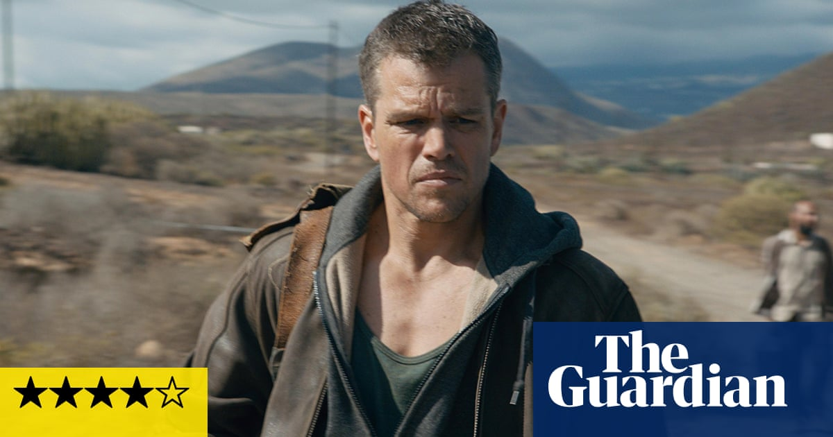Jason Bourne Review Triumphant Return Of The Strong Silent Type Jason Bourne The Guardian
