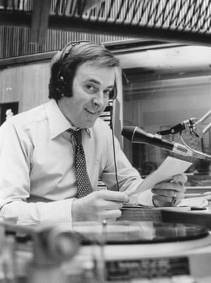 Terry Wogan working as a DJ in 1980