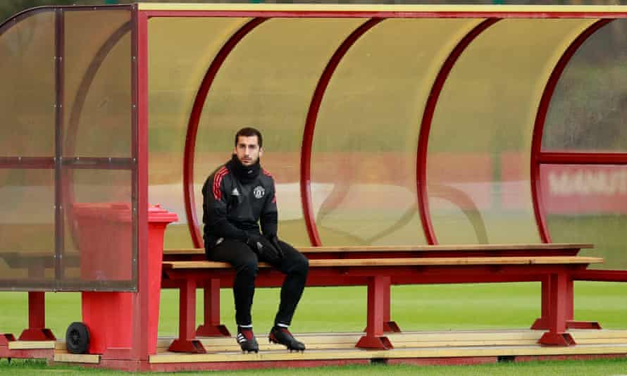 Manchester United's Henrikh Mkhitaryan was left out of the squads to face Newcastle and Basel.