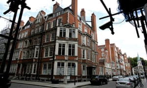 Mayfair in London, one suburb where homes are left empty for long periods.