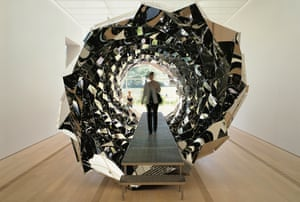Controversy … Olafur Eliasson's Your Spiral View.