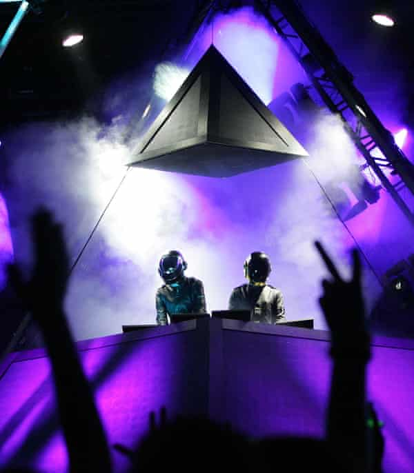 Daft Punk perform at Coachella, 2006.