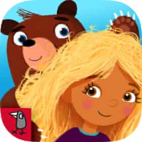 Goldilocks and Little Bear app