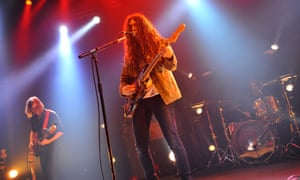 Unhurried … Kurt Vile and the Violators at the Roundhouse, London.
