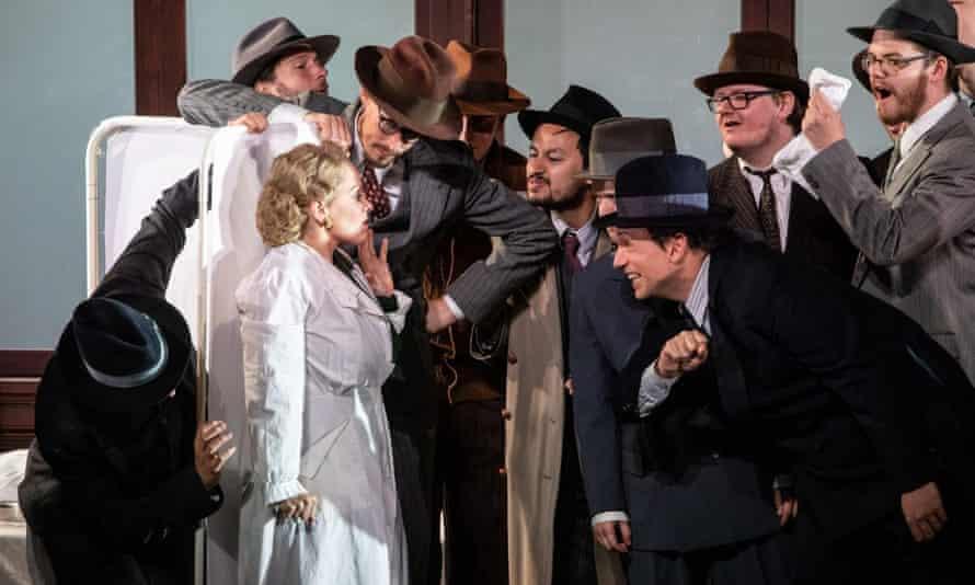 'Engrossing' Opera Holland Park's 2019 staging of Un Ballo in Maschera.