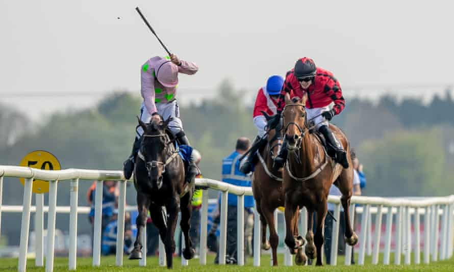 Ruby Walsh rides Burrows Saint to victory.