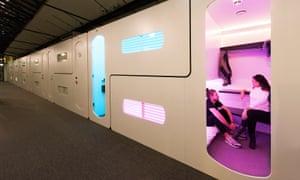 Hub bedroom at CityHub Amsterdam.