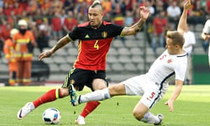 Belgium's Radja Nainggolan, left, is wanted by the incoming Chelsea manager Antionio Conte, and will face Conte's Italy at Euro 2016 on Monday.