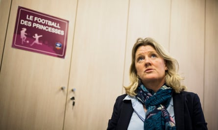 Brigitte Henriques is vice-president of the French Football Federation. Its president, Noël Le Graët, is a great believer in quality and equality.