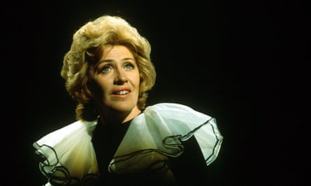 Maggie Fitzgibbon in 1970, appearing in her ITV show Maggie's Place.