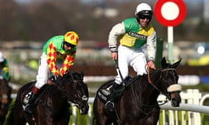 Many Clouds ridden by Leighton Aspell wins the Grand National ahead of Saint Are.