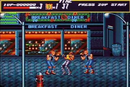 Streets of Rage, released in 1991 on Sega Genesis/Mega Drive.