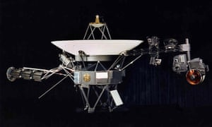 One of the Voyager space probes