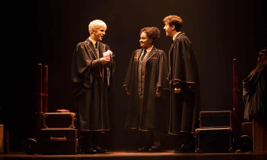 Manali Datar (centre) as Rose Granger Weasley.