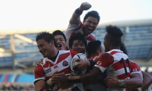 Japan's rugby World Cup team, 2015
