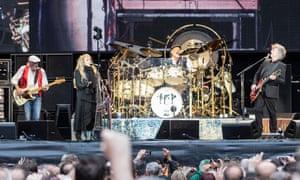 Fleetwood Mac at Wembley Stadium.