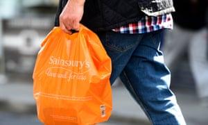 Sainsbury's bag
