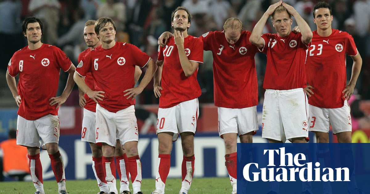 The Dullest Game In World Cup History Switzerland V Ukraine In 2006