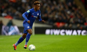Bayern bound? Chelsea's Callum Hudson-Odoi.