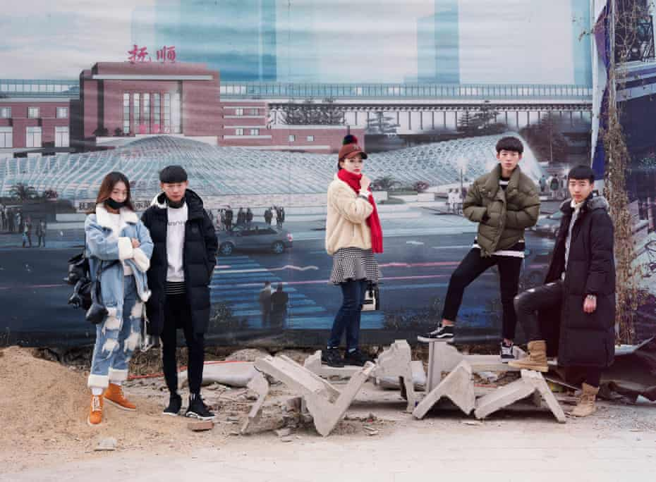 Art students in Fushun, from the series Freezing Land