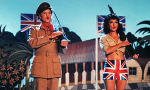 The film version of Privates on Parade, 1982, starring Denis Quilley and Nicola Pagett.