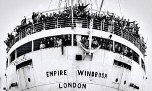 Empire Windrush arrival Tilbury 22 June 1948.