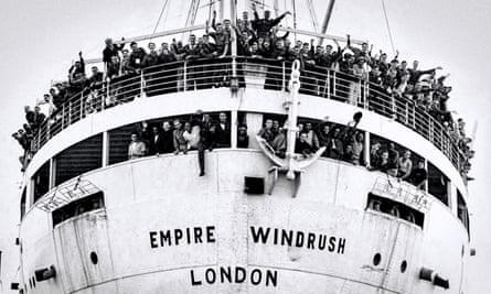 Empire Windrush arrival Tilbury 22 June 1948.
