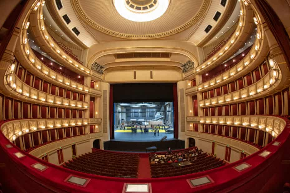 The Vienna State Opera opened in 1869 with the premiere of Mozart's Don Giovanni.