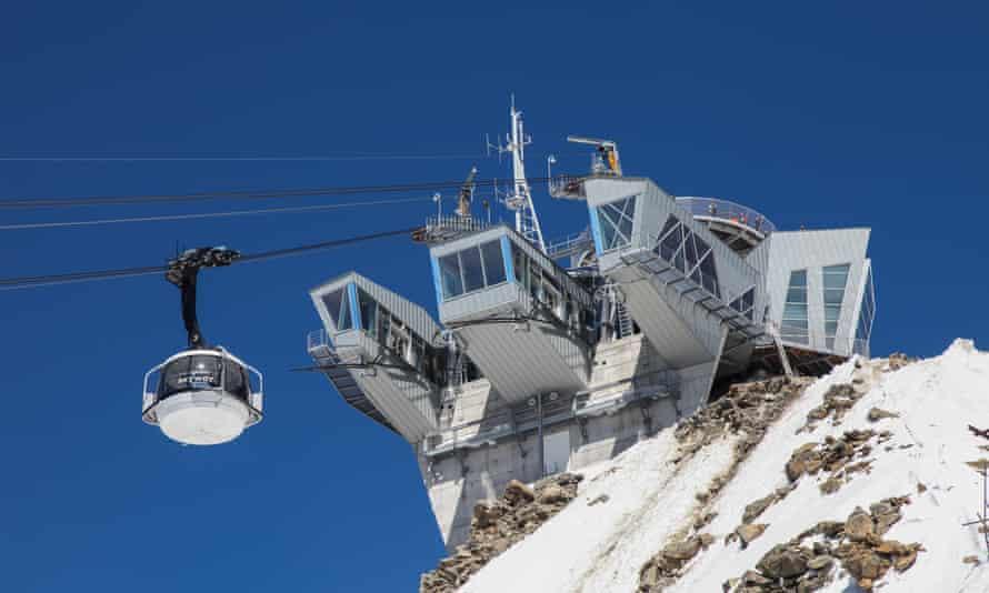 SkyWay Monte Bianco cable car, Valle d'Aosta , Italy