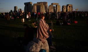 A time for contemplation at Stonehenge