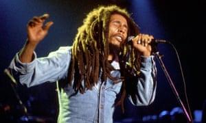 Bob Marley would get Rita to rub black shoe polish into his hair.