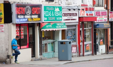 In Blackburn with Darwen, 38% of all food outlets are given over to fast food.