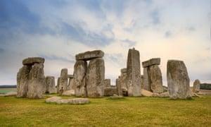 The Stonehenge site.